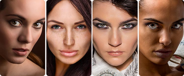 Behind the Retouching Images