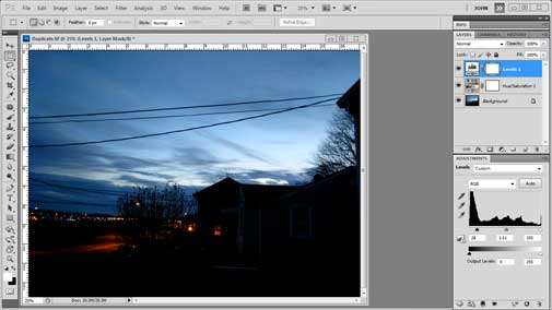 Photoshop CS5.5 Tutorial - Duplicate an Image