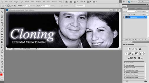 Photoshop CS5.5 Tutorial – Learn How to Clone in Photoshop
