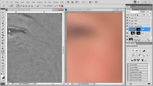 How to use Adobe Photoshop CS5 High-Pass and Low-Pass Filter Sharpening