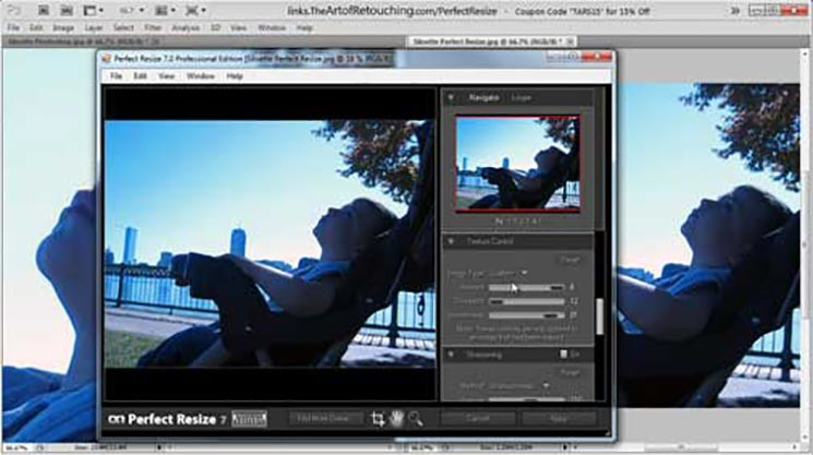OnOne Perfect Resize vs. Photoshop Unsharp Mask