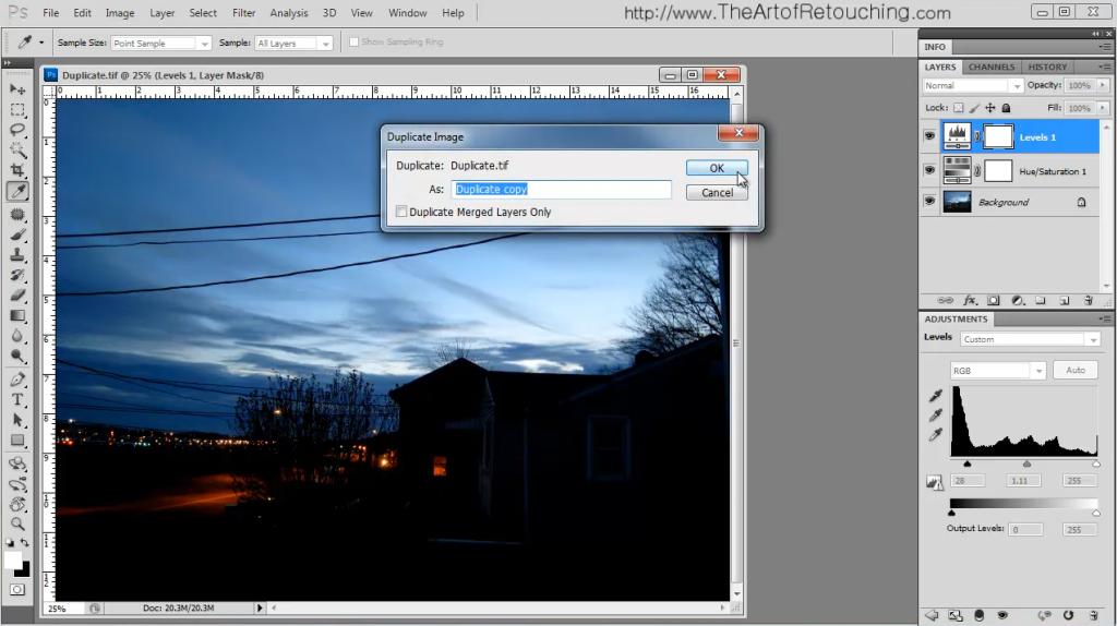 Duplicate Image | Photoshop Basic Tutorial